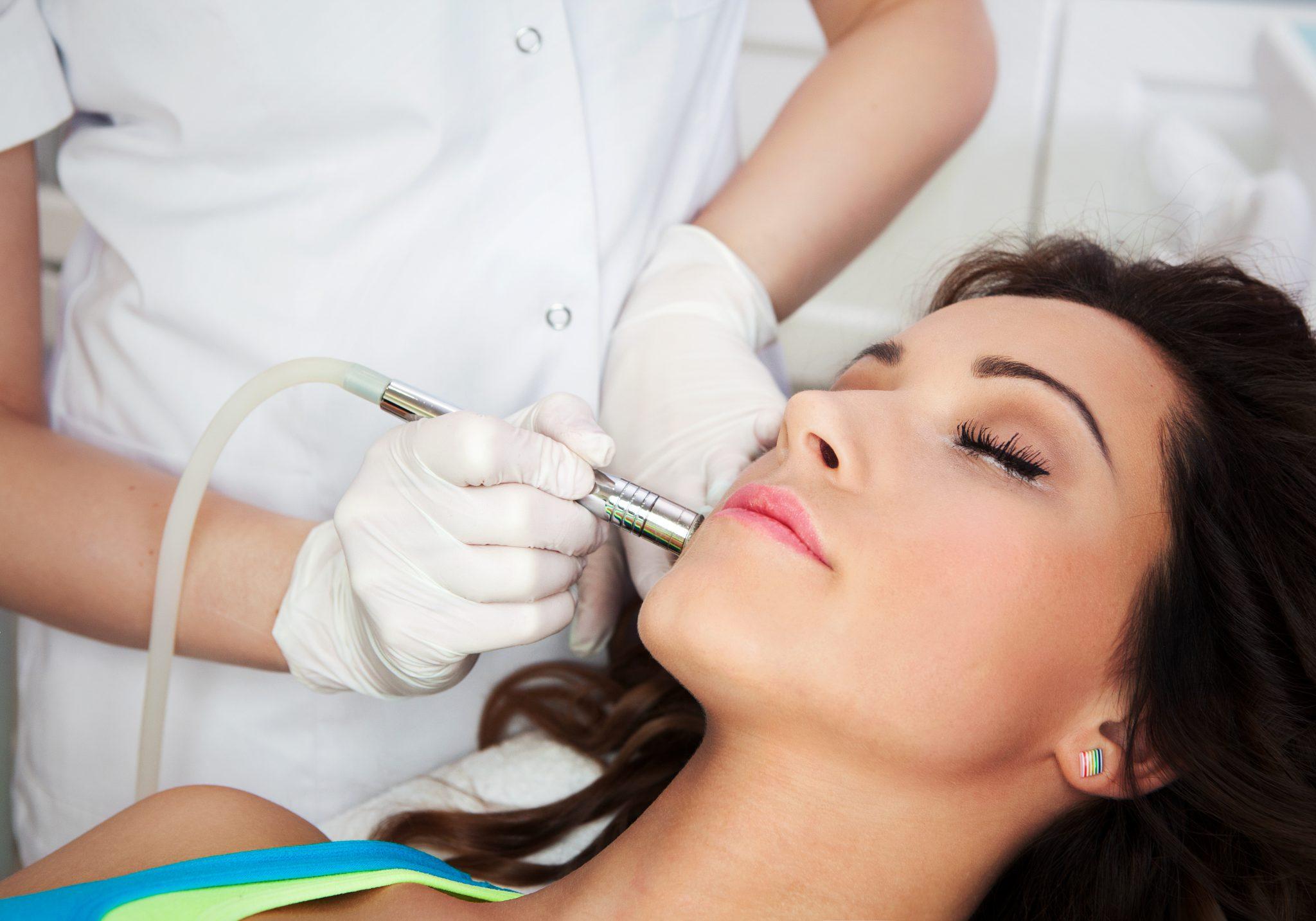 Zabieg laseroterapii